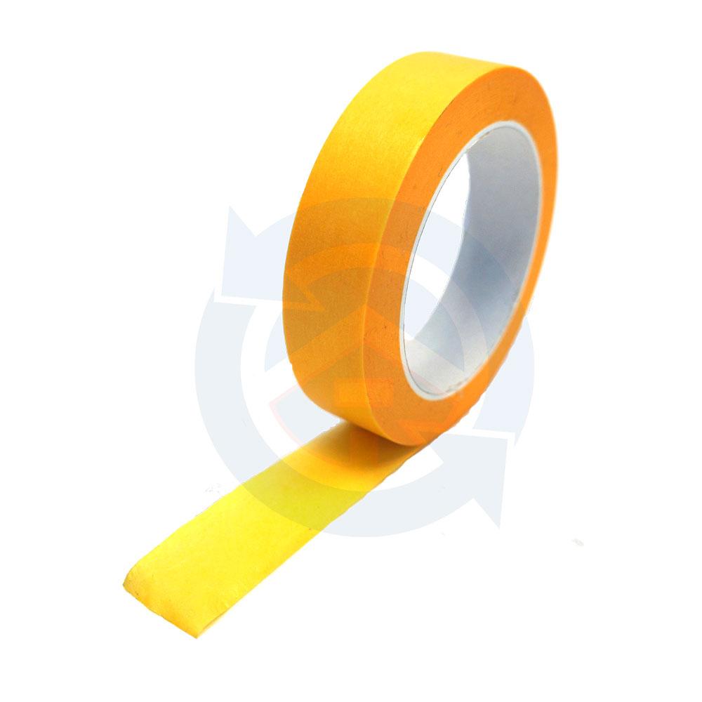 afplaktape geel-goud