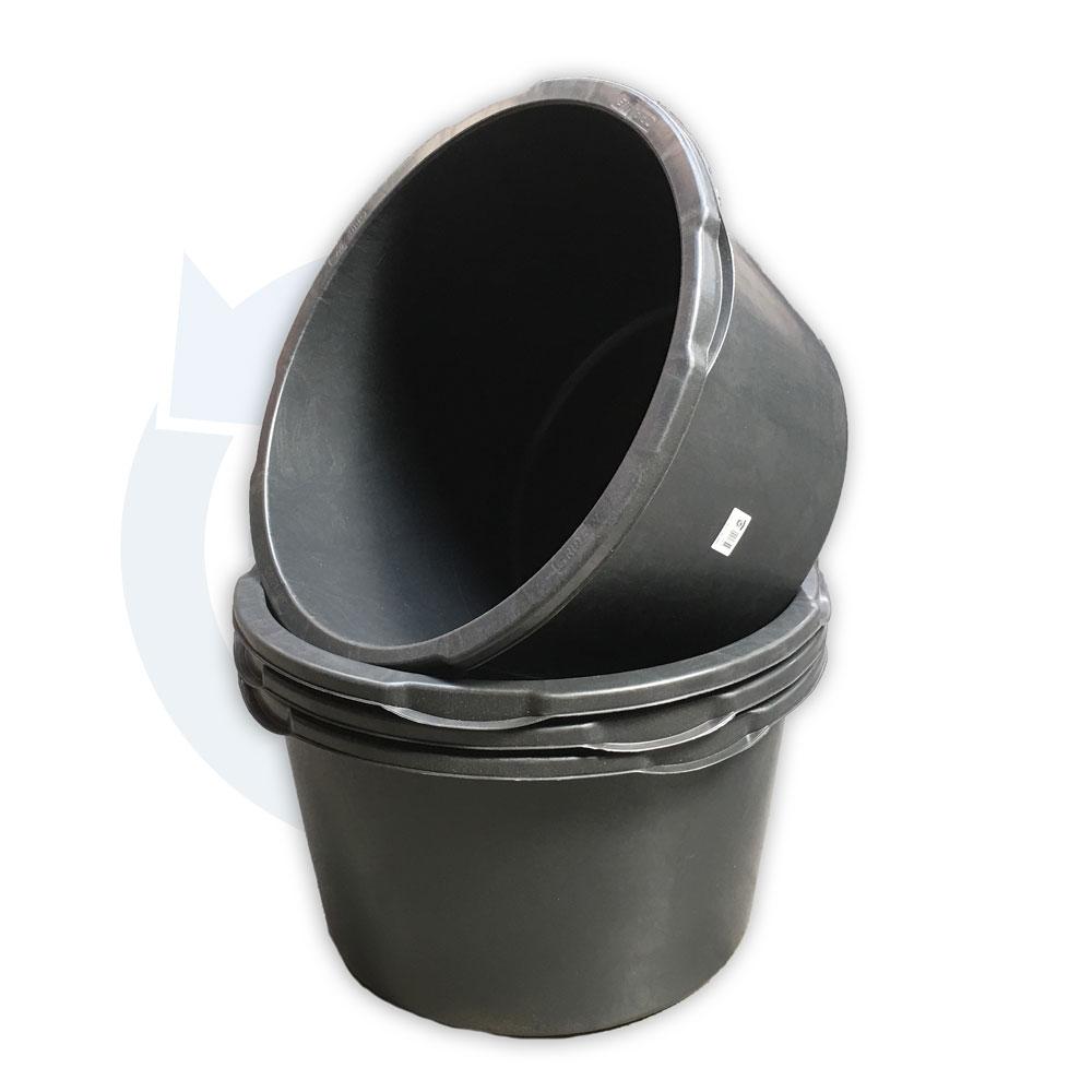 Gripline kuip 65 L - zwart